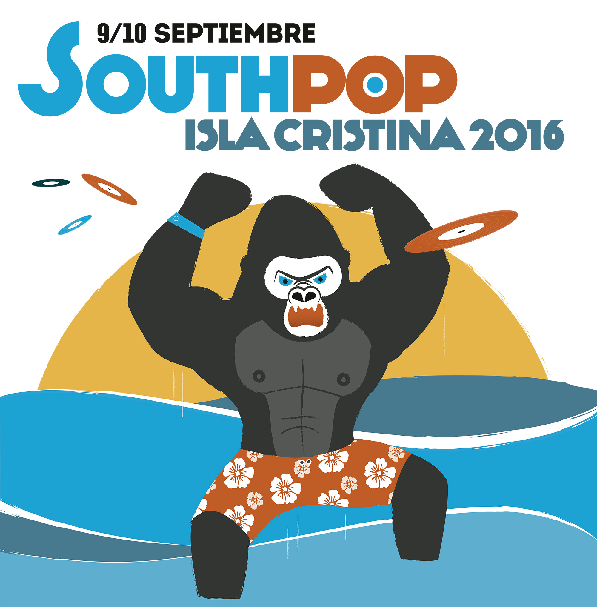 Concierto SOUTH POP ISLA CRISTINA 2016